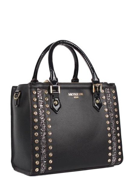 Nicole Lee Black Handbag