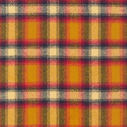 Robert Kaufman Mammoth Flannel Crimson