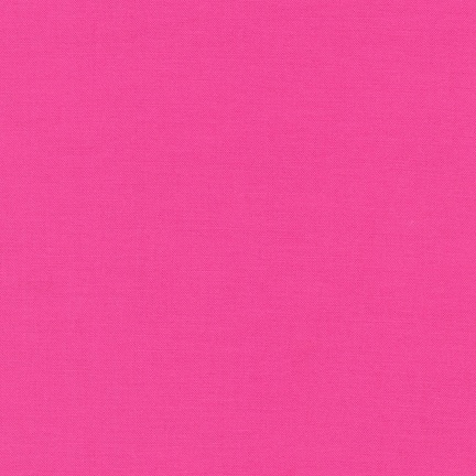 Robert Kaufman Kona Cotton Bright Pink
