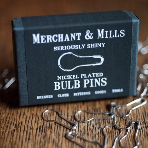 Merchant & Mills Merchant & Mills Nickel Plated Bulb Pins