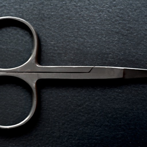 Merchant & Mills Merchant & Mills Wide Bow Black Scissors (scissor 13)