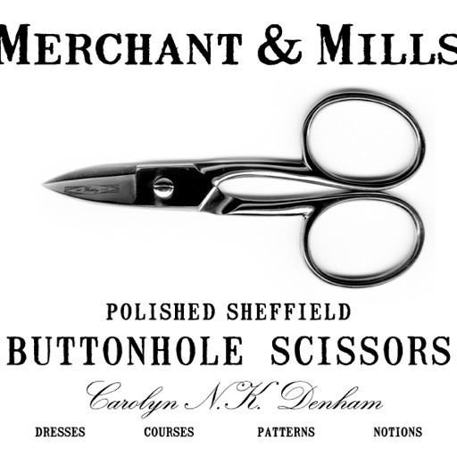 Merchant & Mills Merchant & Mills Buttonhole Scissors