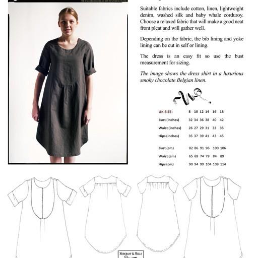 Merchant & Mills Merchant & Mills Dress Shirt Pattern