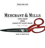 "Merchant & Mills Merchant & Mills Reds Extra Sharp Tailor's Shears 10"" Scissors (scissor 3)"