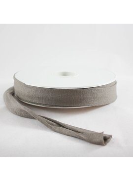 Products from Abroad Knit Jersey Bias Tape Taupe