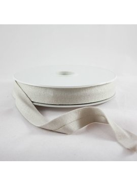 Products from Abroad Knit Jersey Bias Tape Beige (Viscose)