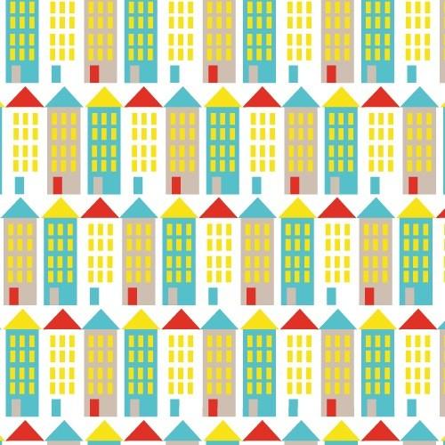 Cloud 9 SALE Small World Corduroy by Rae Hoekstra: Buildings