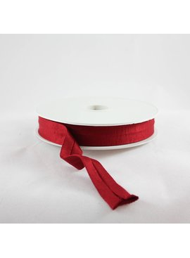 Products from Abroad Knit Jersey Bias Tape Brick Red (Viscose)