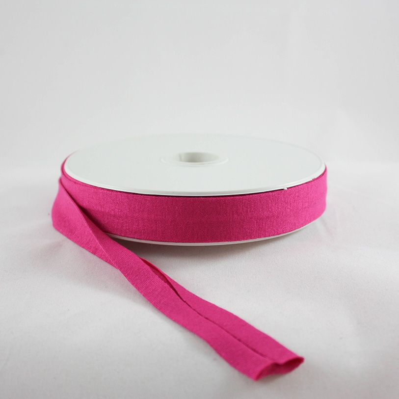 Products from Abroad Knit Jersey Bias Tape Fuschia