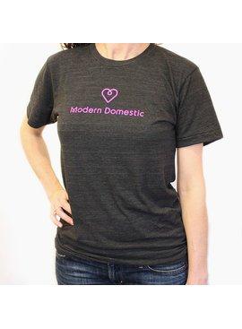 Modern Domestic Modern Domestic Heart T-Shirt: Size Large Unisex
