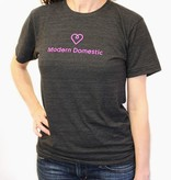 Modern Domestic Modern Domestic Heart T-Shirt: Size Medium Unisex