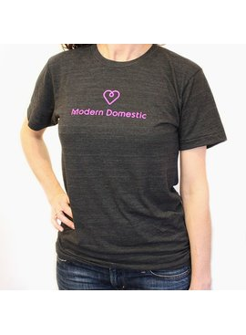 Modern Domestic Modern Domestic Heart T-Shirt: Size Medium Unisex