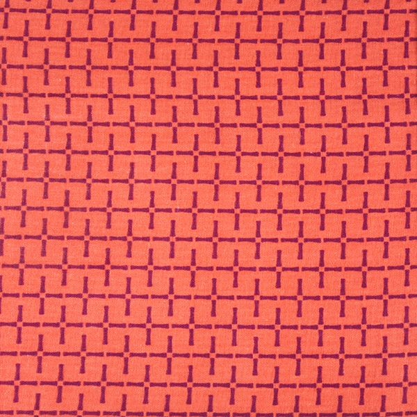 Kokka Charms Collection by Ellen Luckett Baker: Bamboo Double Gauze Orange