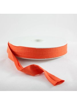 Products from Abroad Knit Jersey Bias Tape Orange (Viscose)