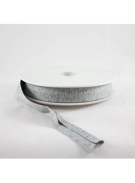 Products from Abroad Knit Jersey Bias Tape Heather Grey (Viscose)