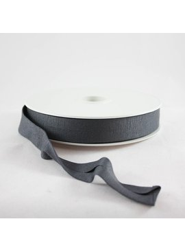 Products from Abroad Knit Jersey Bias Tape Charcoal (Viscose)