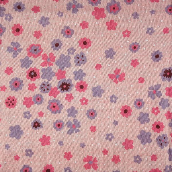Kokka Joielinne for Kokka Collection Double Gauze: Flowers Pink