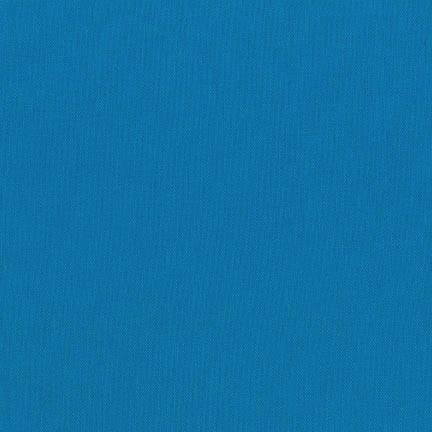 Robert Kaufman Essex Solid Blue