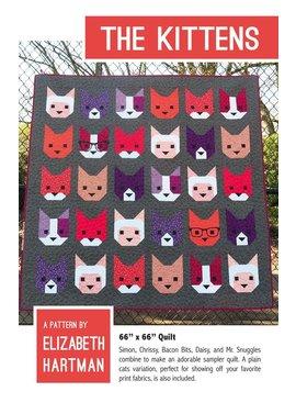 Elizabeth Hartman Elizabeth Hartman's The Kittens Quilt Pattern