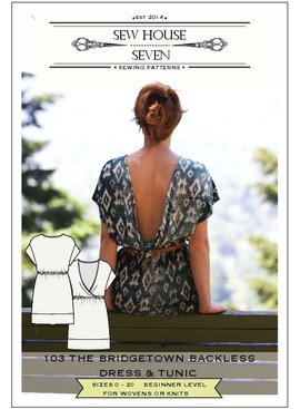 Sew House Seven Pattern Bridgetown Backless Dress and Tunic