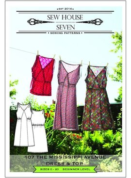 Sew House Seven Pattern Mississippi Ave Dress and Top