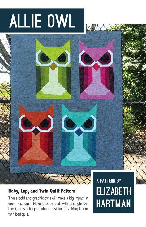 Elizabeth Hartman Elizabeth Hartman's Allie Owl Quilt Pattern