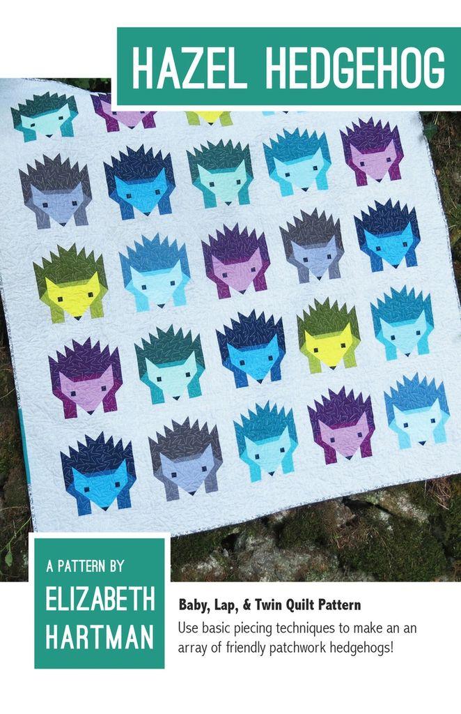 Elizabeth Hartman Elizabeth Hartman's Hazel Hedgehog Quilt Pattern