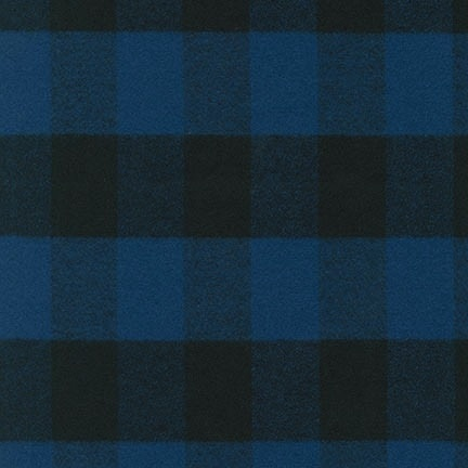 Robert Kaufman Mammoth Flannel Blue
