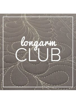 Modern Domestic Longarm Club Annual Membership, (Monday monthly), 10:30 am - 12:30 pm