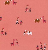 Cotton + Steel Penny Arcade by Kim Kight: Balloons Pink