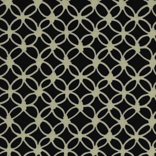 Cotton + Steel Macrame by Rashida Coleman-Hale: Knotty Midnight