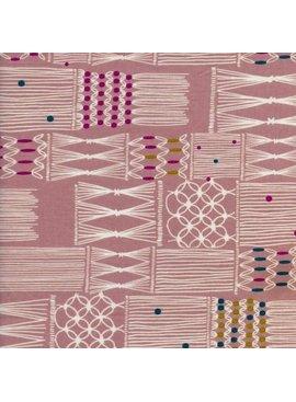 Cotton + Steel Macrame by Rashida Coleman-Hale: Wall Hanging Blush