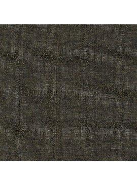 Robert Kaufman Essex Yarn Dyed Metallic Black