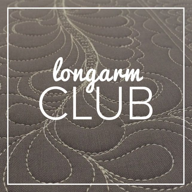Modern Domestic Longarm Club Annual Membership, (Sunday monthly), 2 - 4 pm