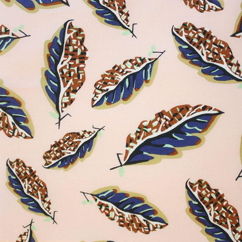 Liberty Art Fabrics Liberty Tana Lawn: Woven Leaves A