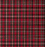 Robert Kaufman Sevenberry Classic Plaid Red