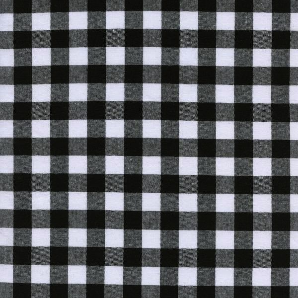 """Cotton + Steel Checkers: 1/2"""" Gingham - Black"""