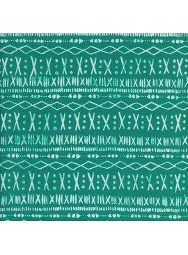 Cotton + Steel Print Shop by Alexia Abegg: Stitch - Turquoise