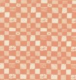 Cotton + Steel Print Shop by Alexia Abegg: Grid - Peach