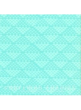Hoffman Fabrics Me + You Hand Dyed Batiks Ice Blue