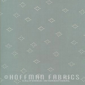 Hoffman Fabrics Me + You Hand Dyed Batiks Fog