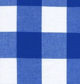 "Cotton + Steel Checkers: 2.5"" Gingham - Cobalt"