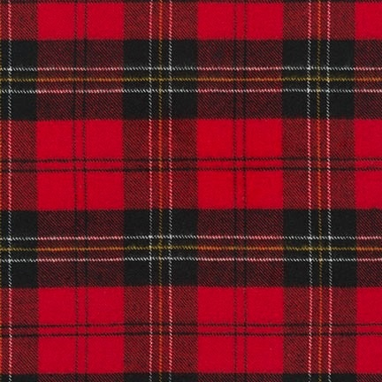 Robert Kaufman Tahoe Flannel Red