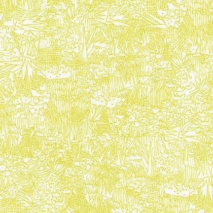 Robert Kaufman Friedlander Lawn by Carolyn Friedlander Wasabi