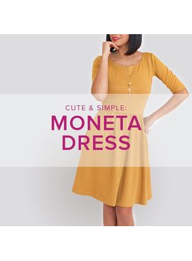 Erica Horton CLASS IN SESSION Moneta Dress, Thursdays, February 16, 23, and March 2, 6 - 8:30 pm