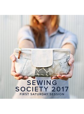 Modern Domestic SESSION FULL Modern Domestic Sewing Society Annual Membership, 2017, First Saturday monthly, 10 am -12:30 pm
