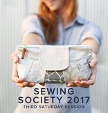 Modern Domestic SESSION FULL Modern Domestic Sewing Society Annual Membership, 2017, Third Saturday monthly, 10 am -12:30 pm