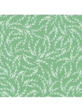 Kaufman Pond by Elizabeth Hartman Celadon Leaves