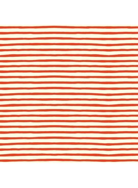 Birch Fabrics Organic Poplin Sailor Stripe