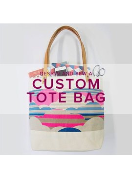Ellie Klum Design and Sew a Custom Tote Bag, Saturday, February 25, 10 am - 5:30 pm